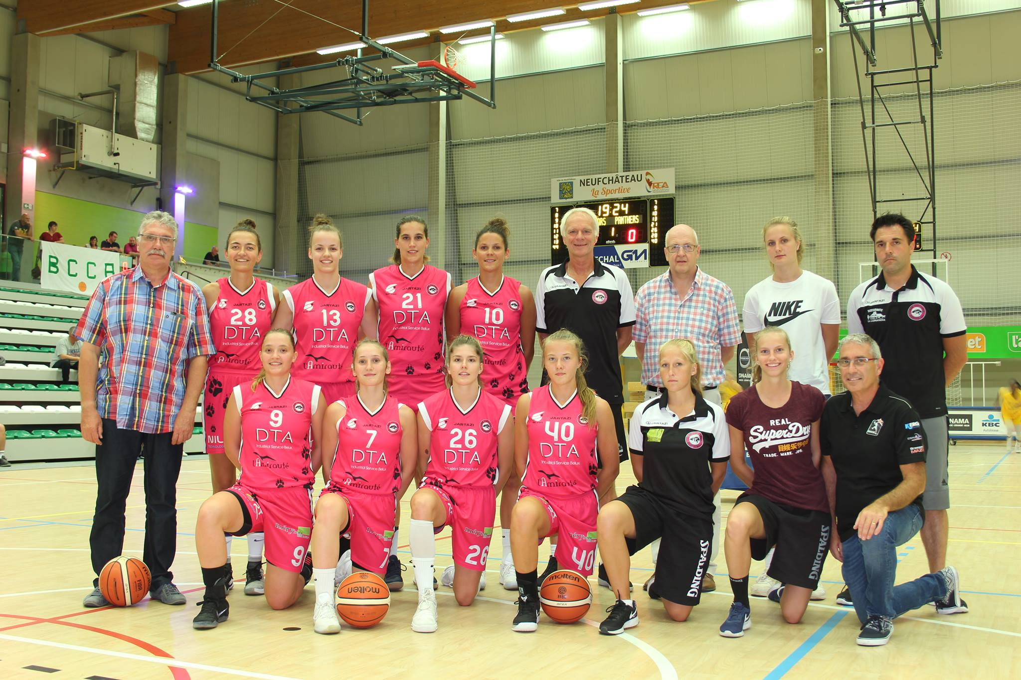 Liège Panthers 2017/2018 (photo: liegepanthers.be)