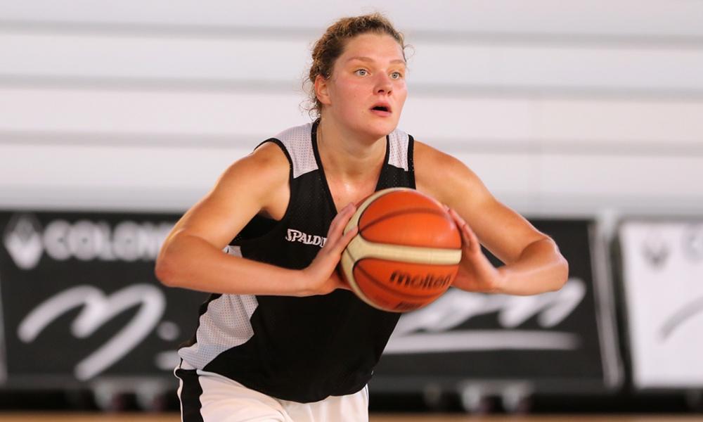 Heleen Nauwelaers à Mondeville (photo: sportacaen.fr)