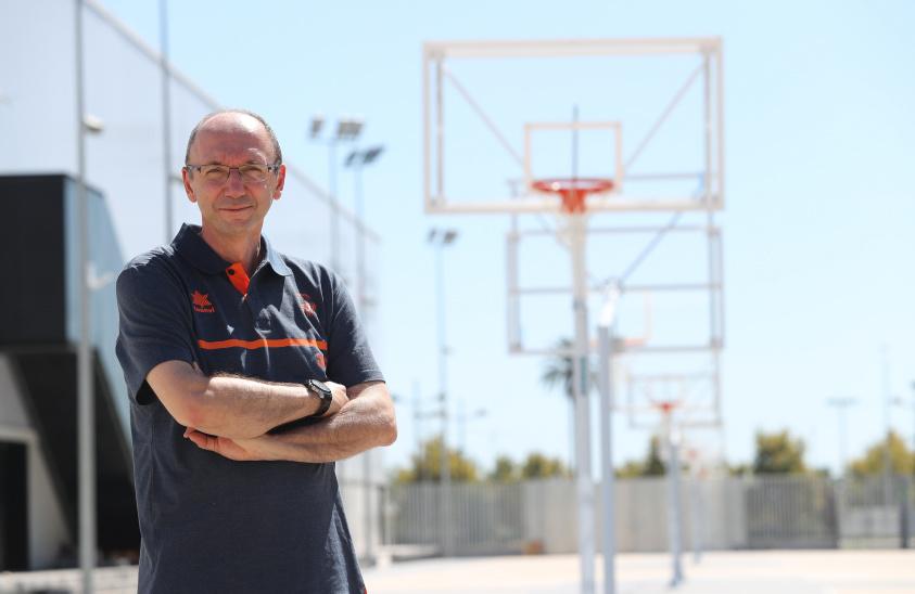 Esteban Albert, directeur sportif de l'Alqueria (photo: Superdeporte.es)