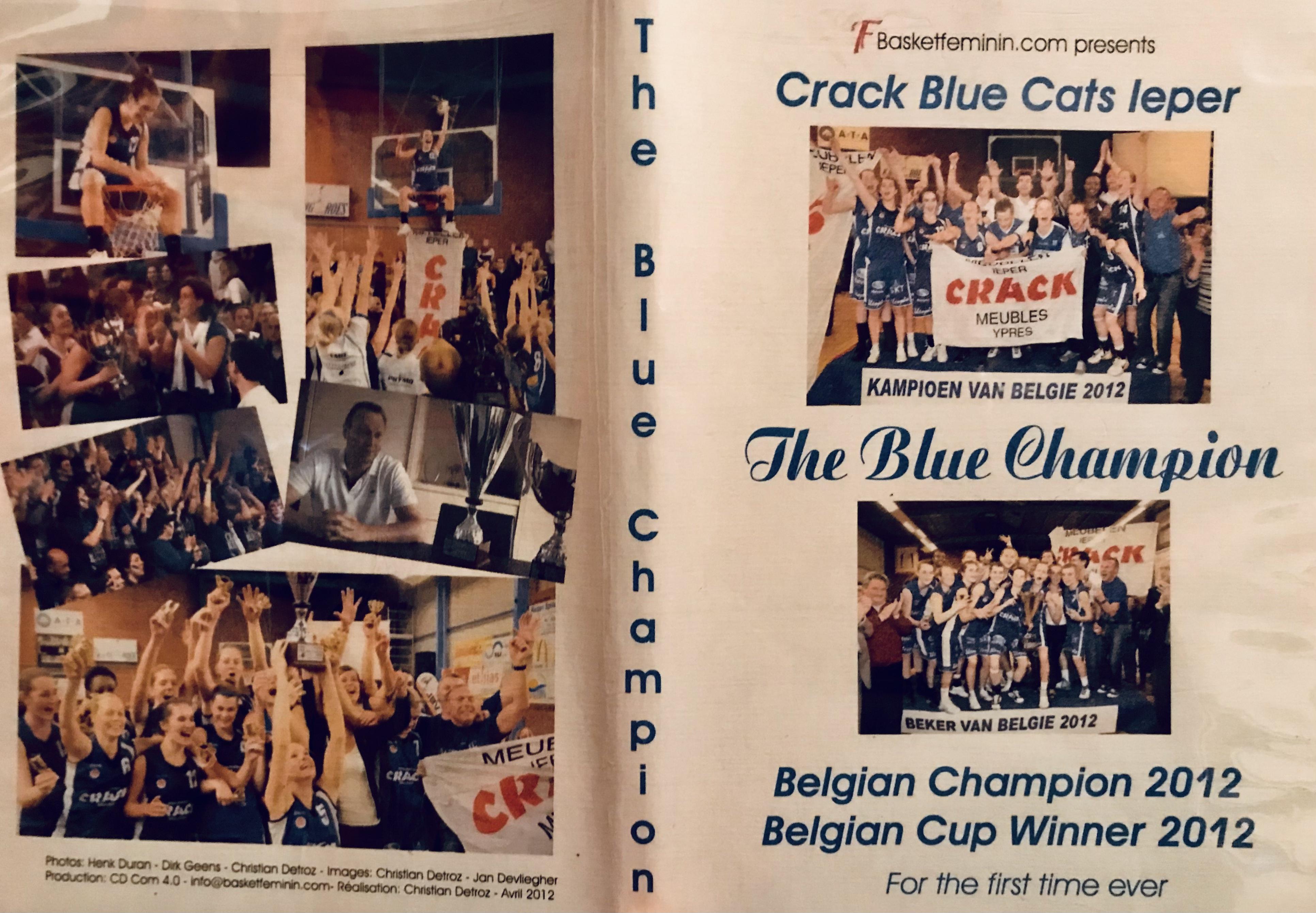 Crack Blue Cats Ieper 2012, un docu inédit de 60 minutes