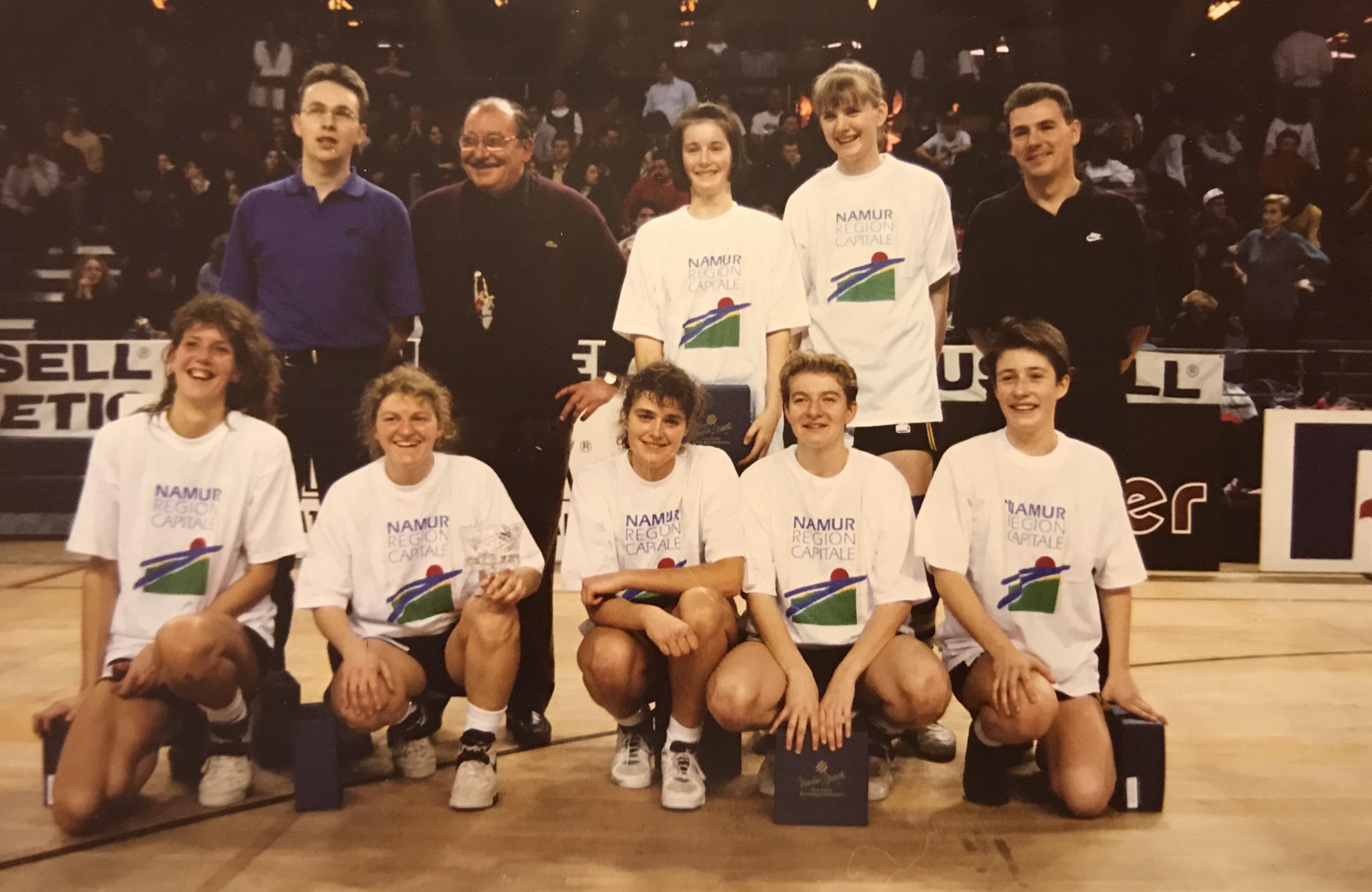 Cette année-là: 1994, la victoire du BC Saint-Servais Namur à Crystal Palace