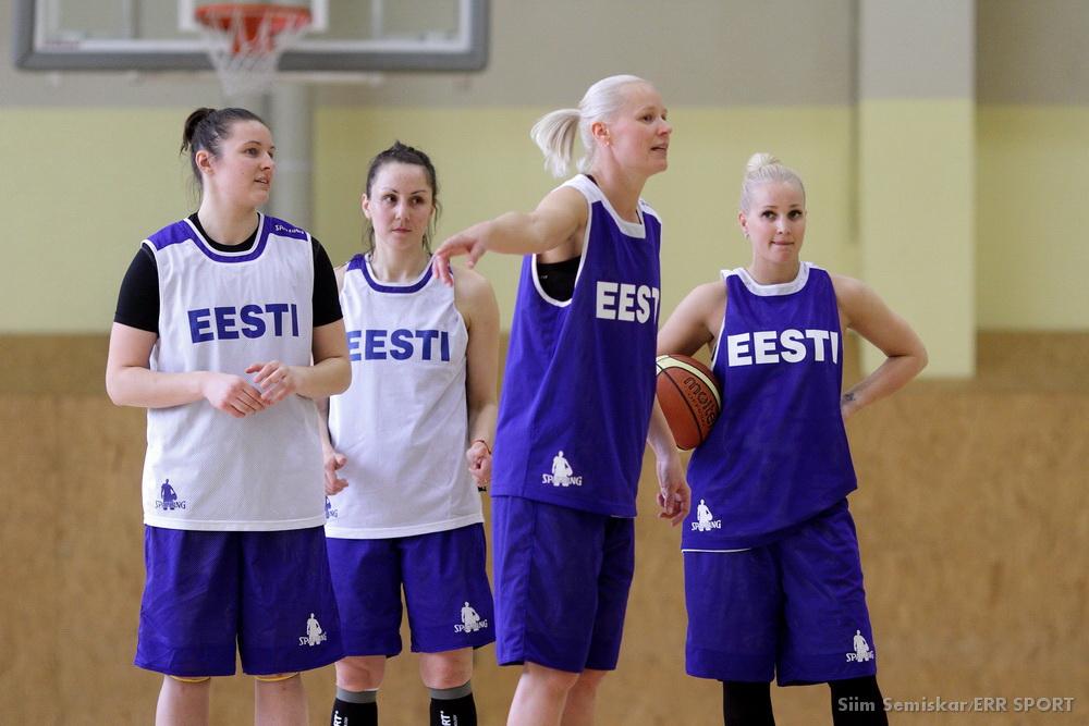Euro-2015/Qualifs - Merike Anderson (Castors Braine) avec l'Estonie