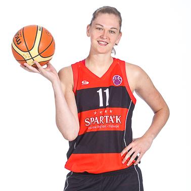 Emma Meesseman et le Spartak, 3e du tournoi d'Ekaterinburg