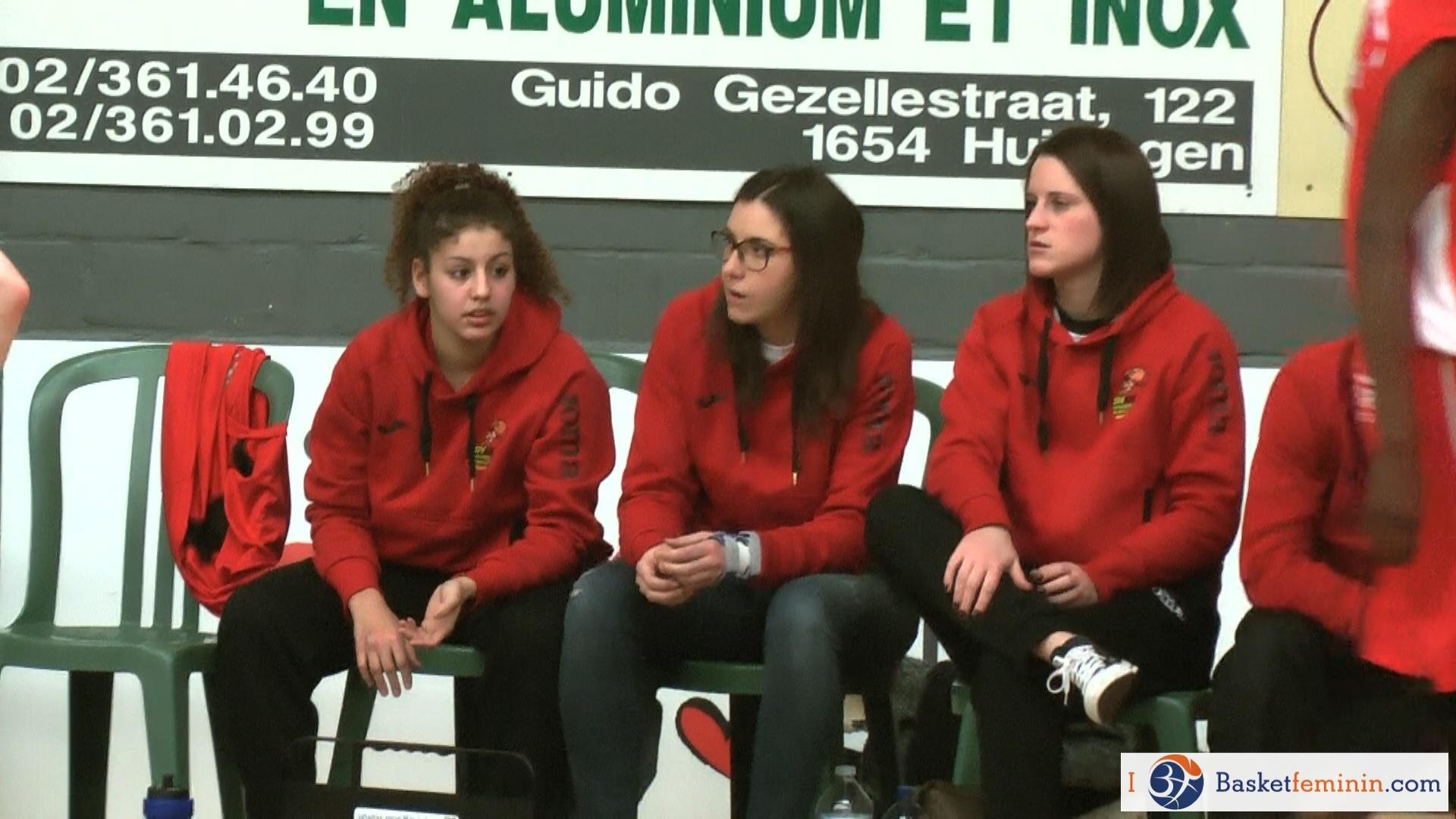 Sofia Ouahabi a rejoint Elena Bestagno et Marie Hamaide à l'infirmerie
