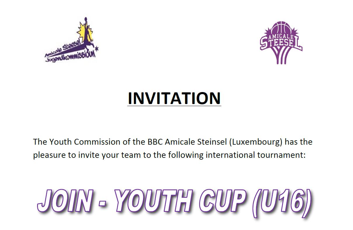 Intéressé par un tournoi au Luxembourg pour les U16 les 30 et 31 mai ?
