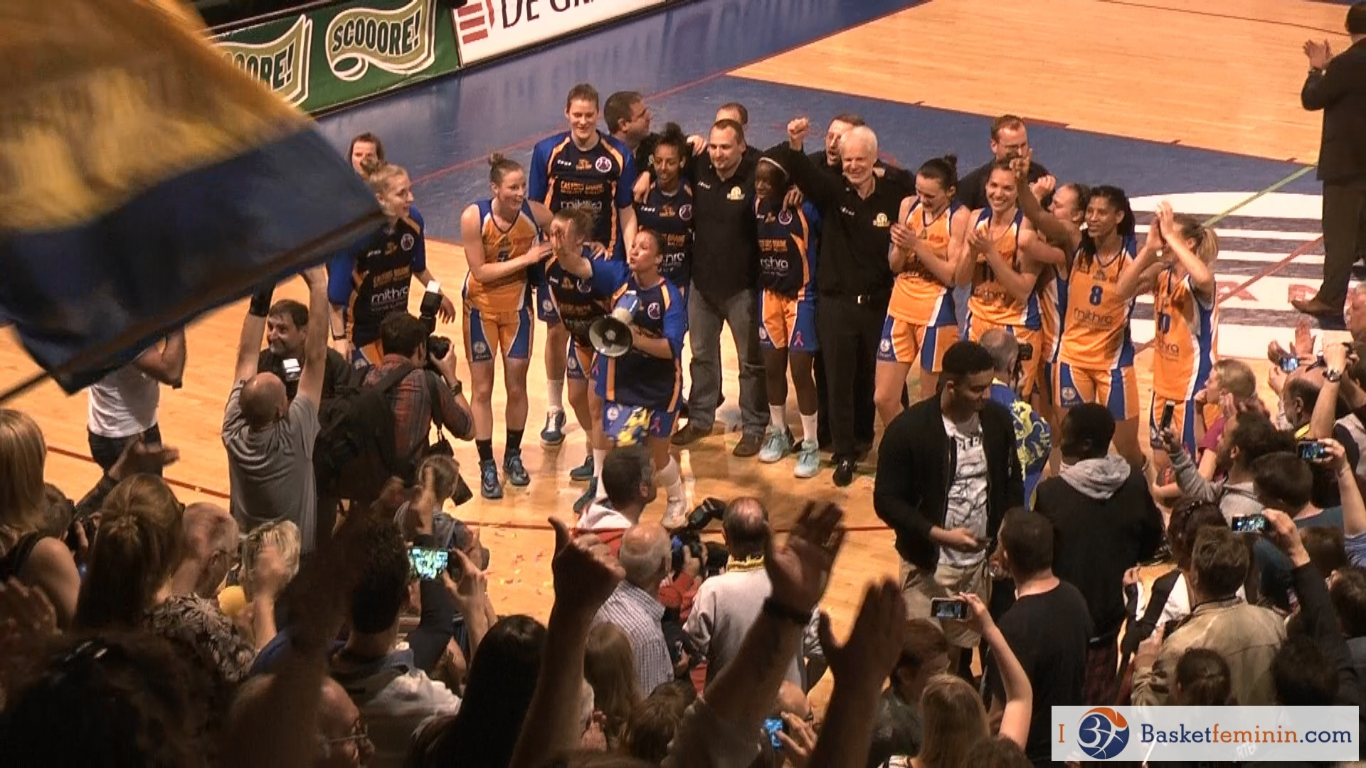 Castors Braine, double champion en titre, remet son titre en jeu
