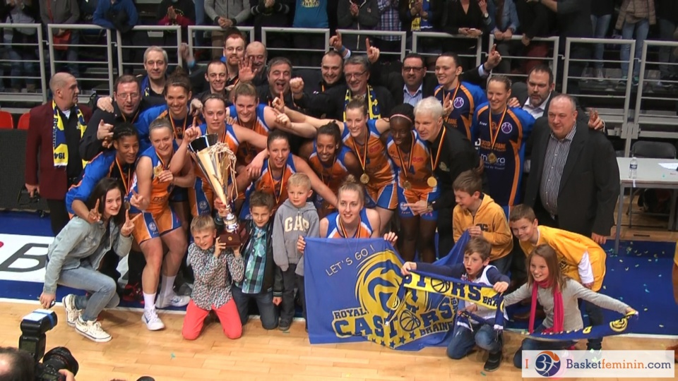 Finaliste de l'Eurocup, Mithra Castors Braine en Euroligue