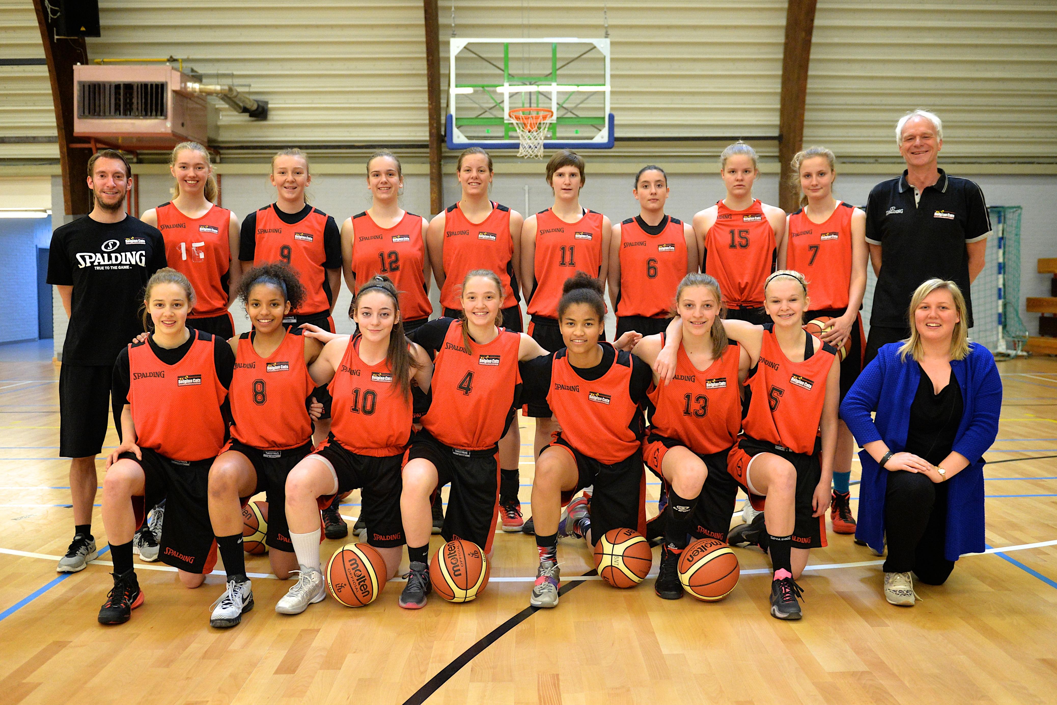Les U16 (photo: basketbelgium.be)