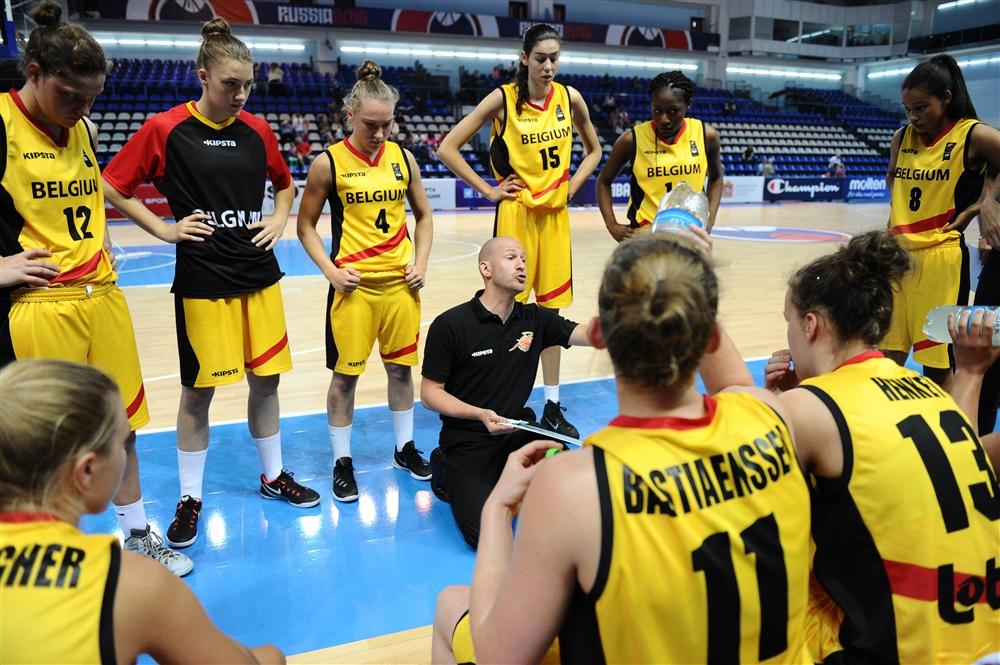 La Belgique concentrée désormais sur l'Espagne (photo: FIBA.com)