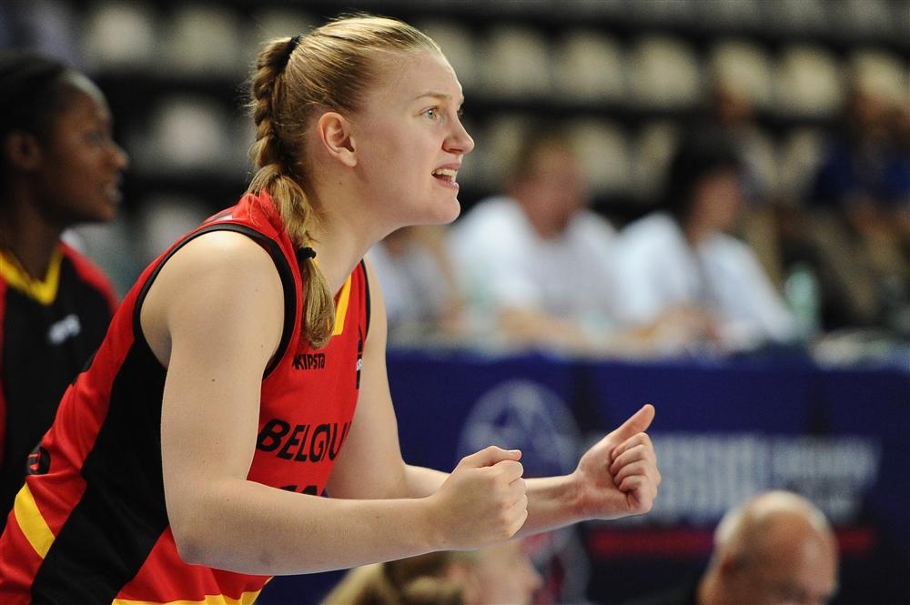 Eline Maesschalck avec cette fois en Slovénie (photo: FIBA.com)