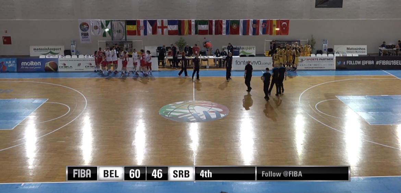 Euro U16 - La Belgique débute par une imposante victoire