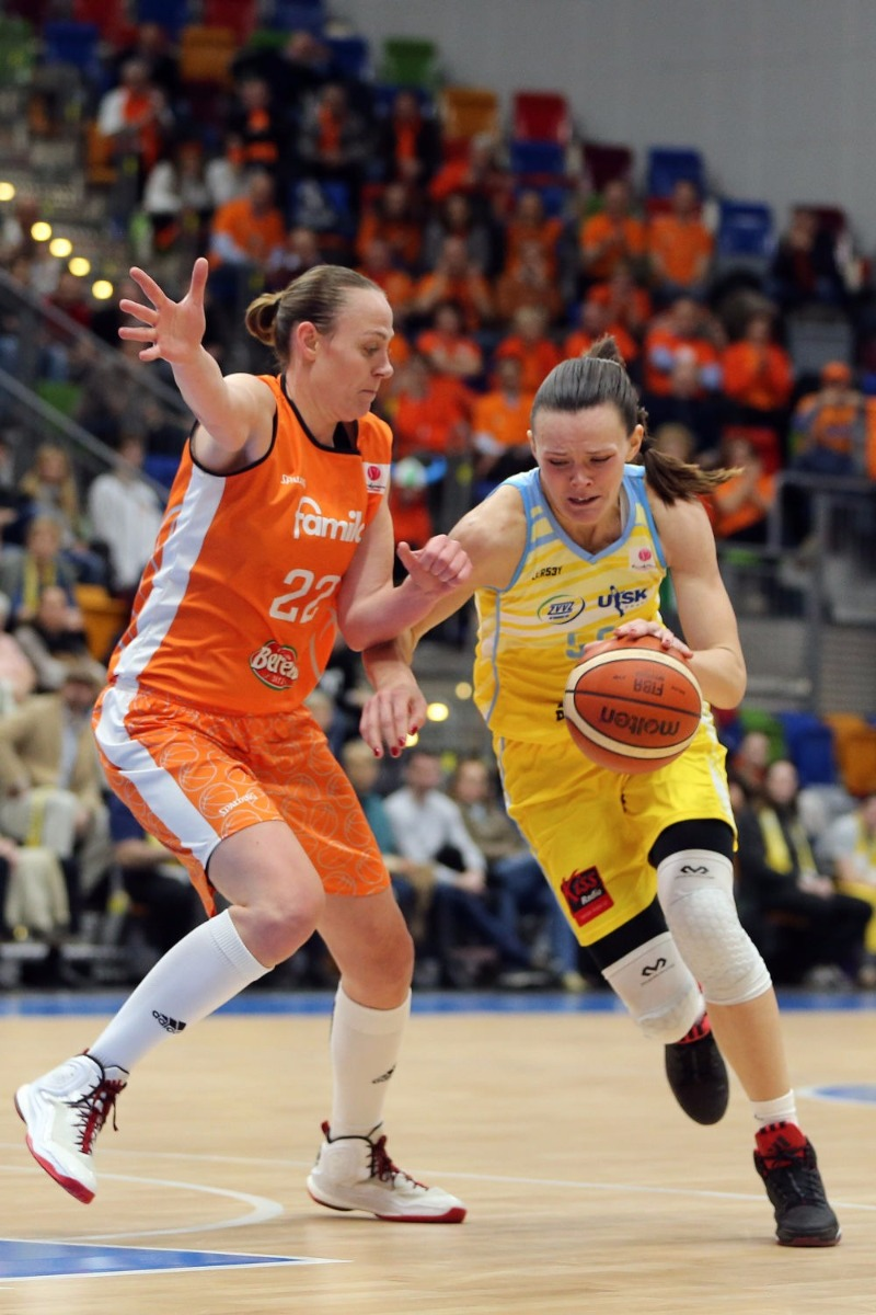 Anete Steinberga au niveau Euroleague (photo: FIBA/Ladek Spila)