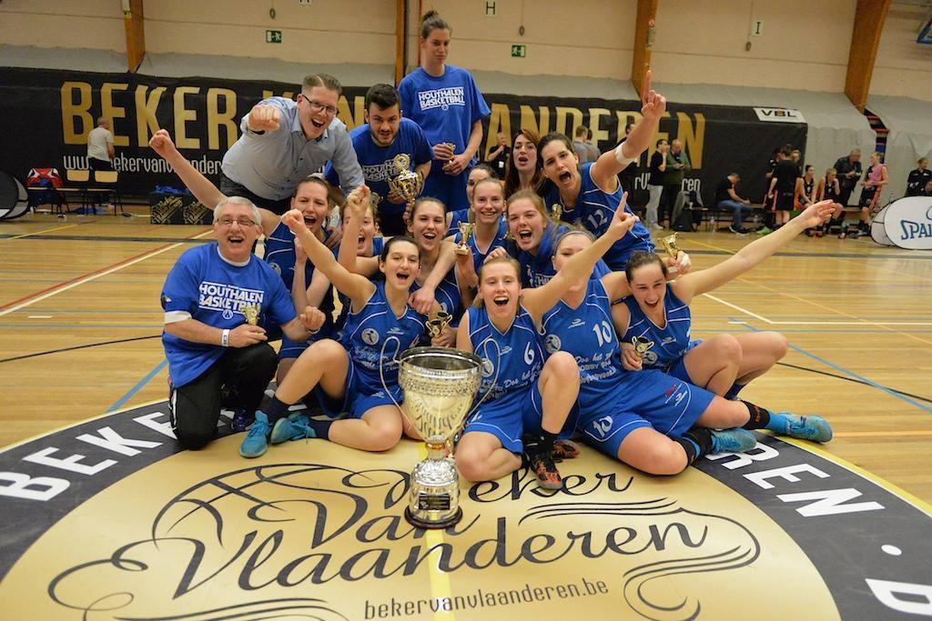 DBC Houthalen en play-off et vainqueur de la Coupe des Flandres