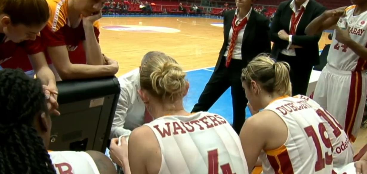 Galatasaray et Ann Wauters s'imposent de justesse en Turquie