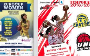 TV Live - Mithra Castors Braine vs Uni Girona (Esp) en Eurocup