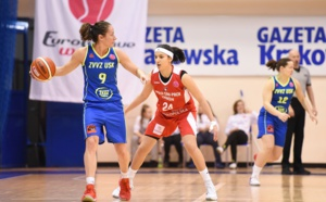Euroleague - 23 points pour Hind Ben Abdelkader (Wisla) face à l'USK Prague