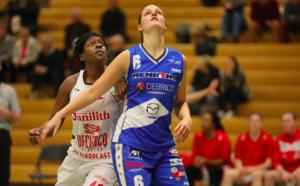 Shanavia Dowdell et Lara Gaspar restent, Jaleesa Maes file à Liège Panthers