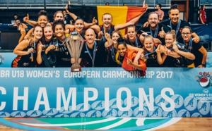 Les U18 d'Arvid Diels sont devenues championnes d'Europe, Billie Massey MVP !