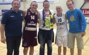 Euro-2015/Qualifications - La Lettonie de Steinberga va gagner en Estonie chez Merike Anderson