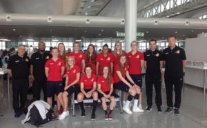 Les U20 détournées sur Las Palmas, ont rejoint Lanzarote samedi