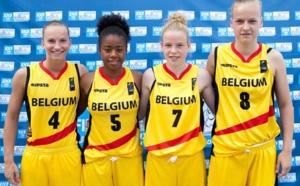 Les U18 3X3 qualifiées pour l'Euro à Minsk