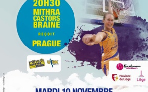 Euroleague - Clap 5e - Face à l'USK Prague, champion d'Europe, mardi à Liège