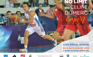 """""""No limit"""" avec Céline Dumerc, capitaine de Bourges et de l'équipe de France"""