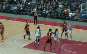 Euroleague - Mithra Castors Braine battu 52-78 par Eka, dans une autre dimension