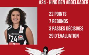 22 points pour Hind Ben Abdelkader avec Nice, vainqueur de Charleville