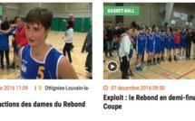 TV - Toutes les images et les réactions après la qualification du Rebond Ottignies en Coupe de Belgique