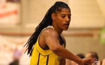 31 points pour Celeste Trahan-Davis à SKW pour Braine (photo: Fred Moisse)