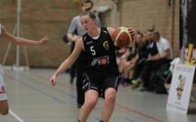 Ilse Deforche en verve contre son ancienne équipe (photo: Eddy Lippens)