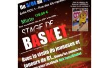 Un stage DPK Specibasket Marjorie Carpréaux à Charleroi
