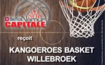 Live TV - Belfius Namur face à Kangoeroes Willebroek (20h30)