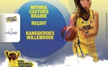 TV Live - Finale - Mithra Castors Braine vs Kangoeroes Willebroek