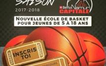 Une Women Basket Namur Academy du côté des jeunes à Belfius Namur
